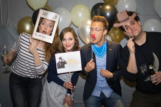 Nadia Quinn, Laura Osnes, Nathan Johnson, Greg Hildreth